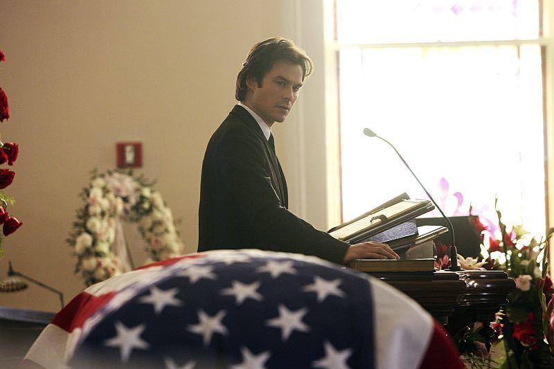 """The Vampire Diaries """"Let Her Go"""" Ian Somerhalder as Damon"""