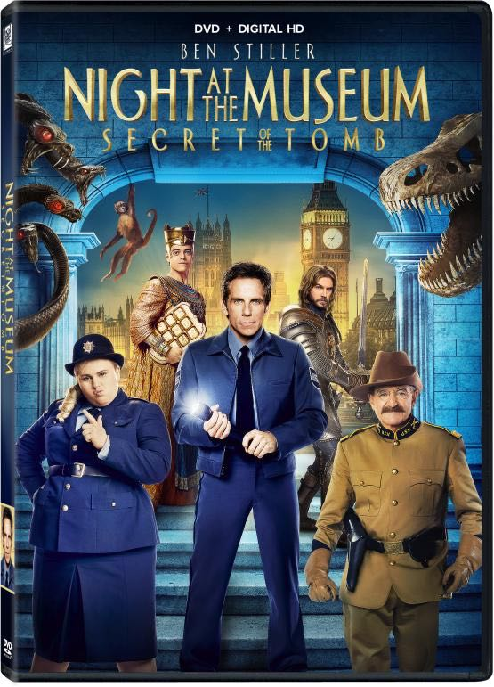 NIGHT AT THE MUSEUM SECRET OF THE TOMB DVD