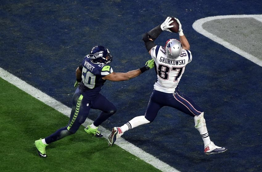 Rob Gronkowski Super Bowl Touchdown
