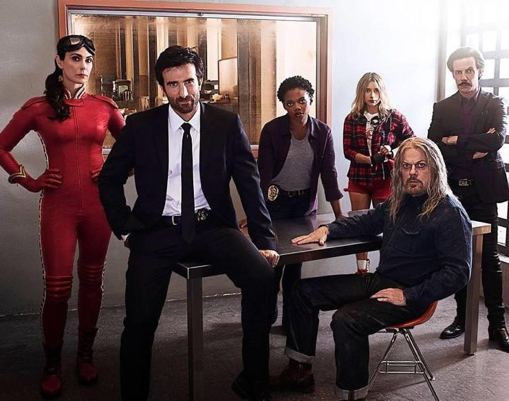 Powers Cast Playstation Ps4