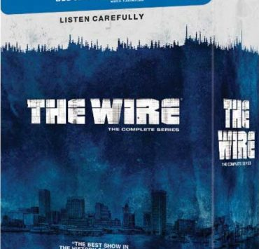 THE WIRE THE COMPLETE SERIES Blu-ray Cover Artwork