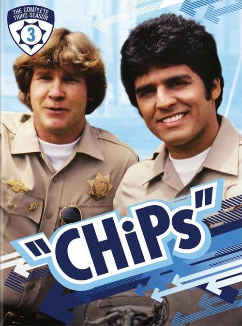 CHiPs Season 3 DVD