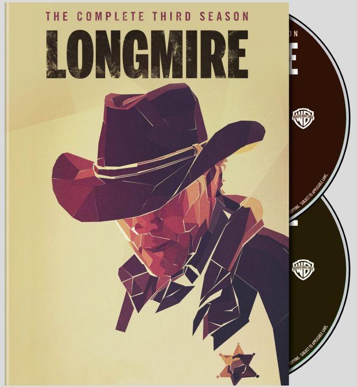Longmire Season 3 DVD