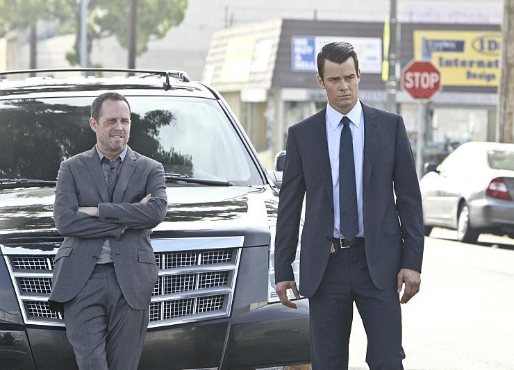 BATTLE CREEK stars Josh Duhamel and Dean Winters