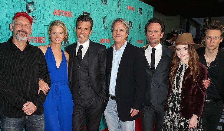 Justified Cast Finale Premiere