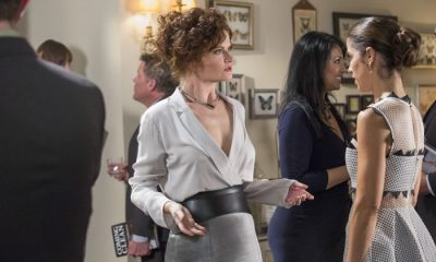(L to R) Rebecca Wisocky and Ana Ortiz star in season three of Lifetime's hit series Devious Maids, premiering Monday, June 1st, at 9pm ET/PT on Lifetime.