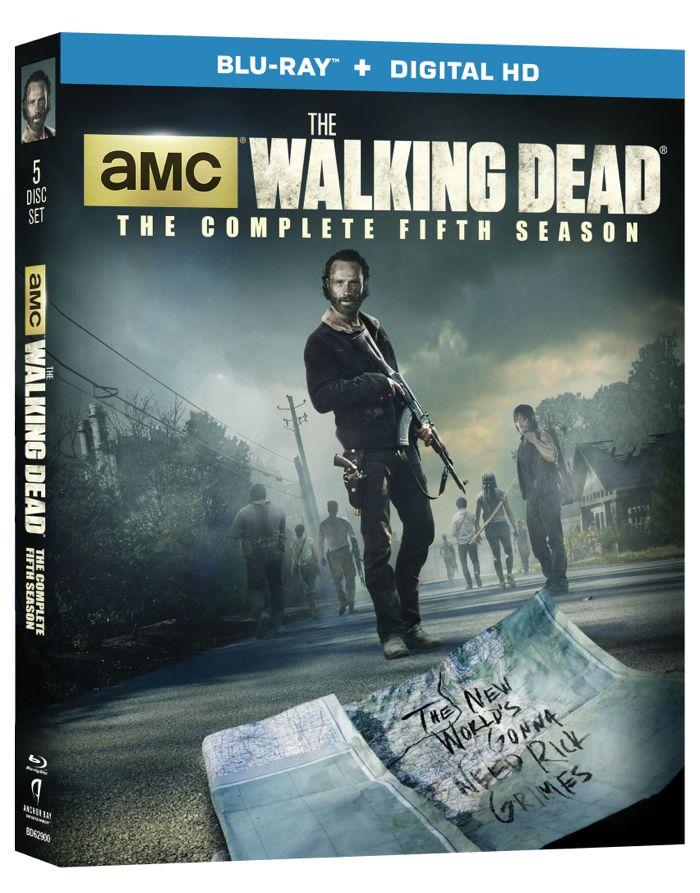 The Walking Dead Season 5 Bluray