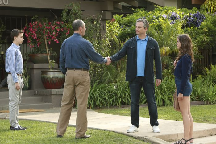 "THE FOSTERS - ""Father's Day"" - The Adams Foster family celebrates Father's Day in an all-new episode of ""The Fosters,"" airing Monday, June 15, 2015 at 8:00PM ET/PT on ABC Family. (ABC Family/Ron Tom) HAYDEN BYERLY, JAMIE MCSHANE, KERR SMITH, MAIA MITCHELL"