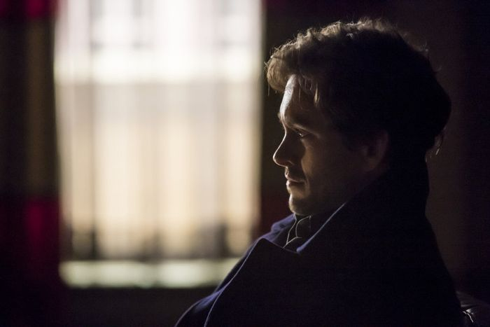 "HANNIBAL -- ""Secondo"" Episode 303 -- Pictured: Hugh Dancy as Will Graham -- (Photo by: Brooke Palmer/NBC)"
