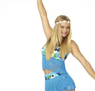 "TEEN BEACH 2 - Disney Channel's ""Teen Beach 2"" stars Mollee Gray as Giggles. (Disney Channel/Bob D'Amico)"