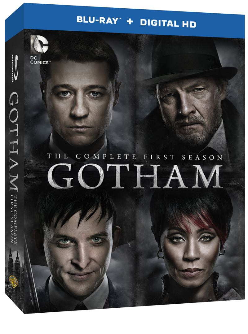 GOTHAM Season 1 DVD And Blu-ray Release