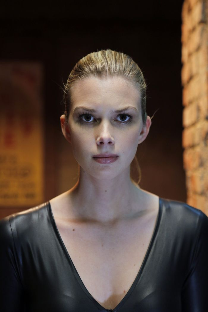 "STITCHERS - ""Friends in Low Places"" - Kirsten crosses paths with Detective Fisher again when they end up working on the same overdose death of a young woman in an all-new episode of ""Stitchers,"" airing Tuesday, June 9, 2015 at 9:00PM ET/PT on ABC Family. (ABC Family/Tony Rivetti) EMMA ISHTA"