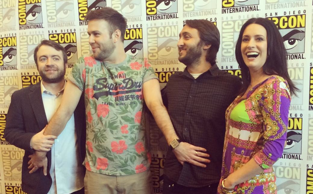 Drunk History Cast Comic Con