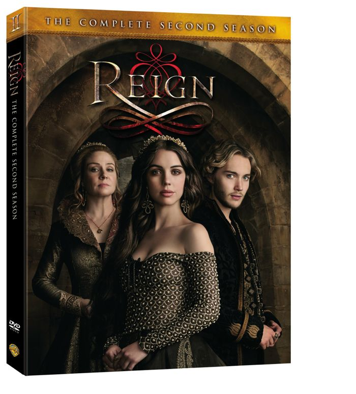 Reign Season 2 DVD Cover