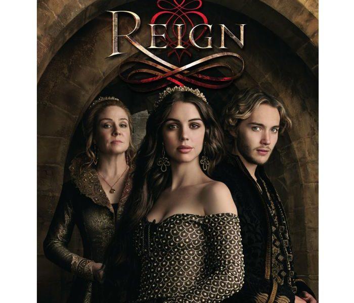 Reign Season 2 DVD Cover Artwork