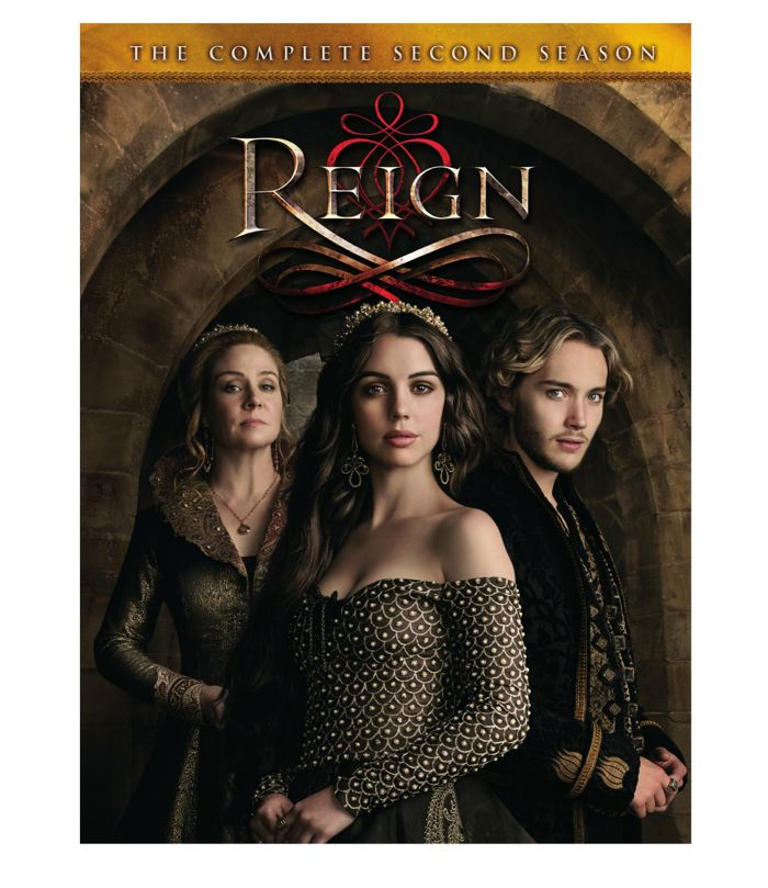 Reign Season 2 DVD Cover Artwork