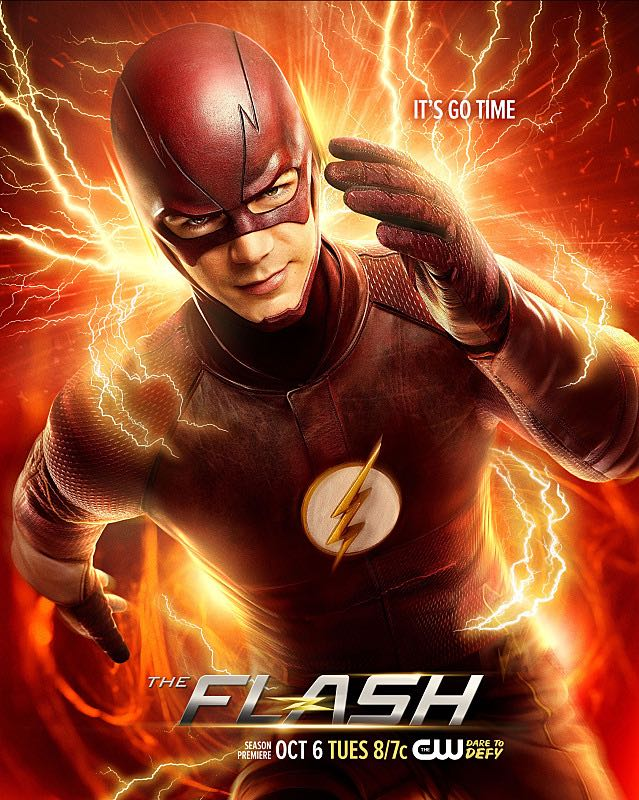 The Flash Season 2 Poster