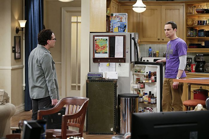 """The Matrimonial Momentum"" -- After driving to Vegas to get married, Penny struggles with Leonard's (Johnny Galecki, left) confession that he kissed another girl.  Also, Sheldon (Jim Parsons, right) doesn't know how to act after Amy pushes pause on their relationship, on the ninth season premiere of THE BIG BANG THEORY, Monday, Sept. 21 (8:00-8:31 PM, ET/PT), on the CBS Television Network. Photo: Sonja Flemming/CBS ©2015 CBS Broadcasting, Inc. All Rights Reserved"