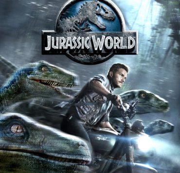 Jurassic World Bluray Cover