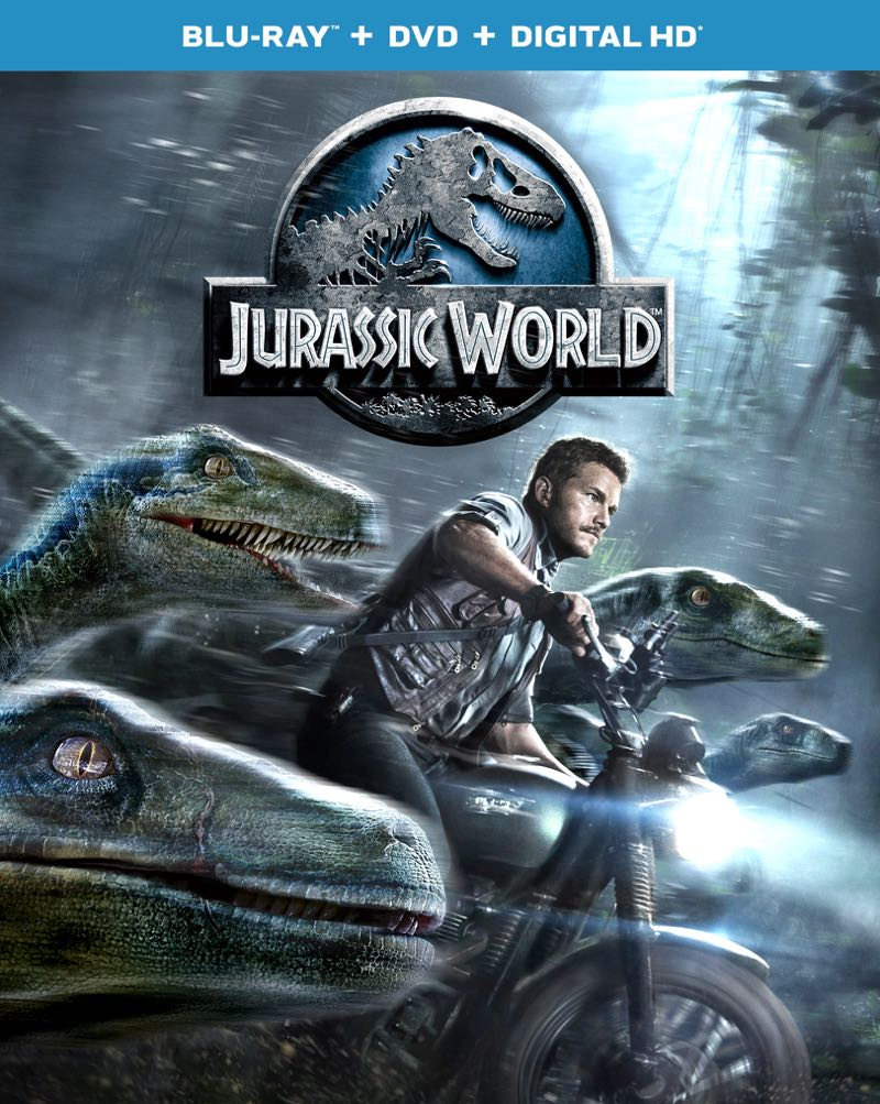 Jurassic World Bluray Cover