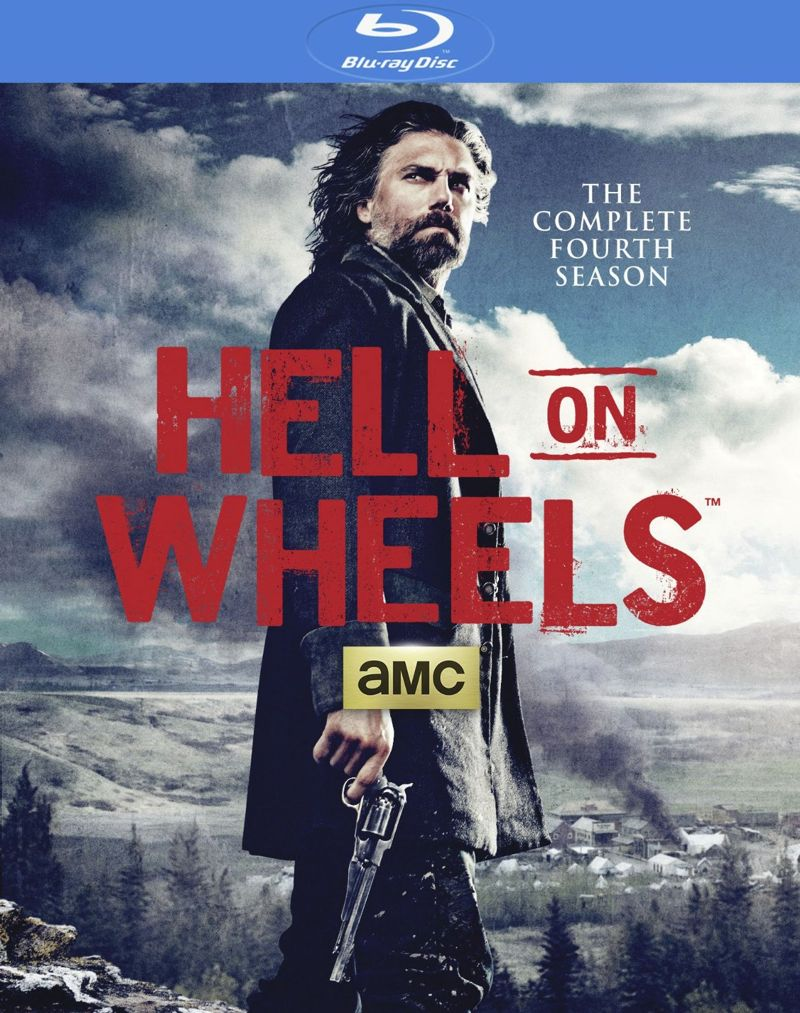 Hell On Wheels Season 4 Bluray