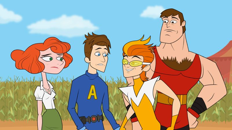 The Awesomes Hulu