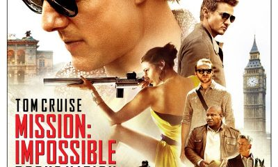 MISSION IMPOSSIBLE ROGUE NATION Bluray