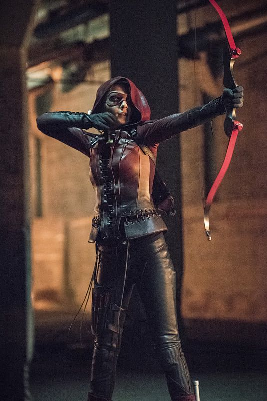 """Arrow -- """"Green Arrow"""" -- Image AR401B_0492b -- Pictured: Willa Holland as Speedy -- Photo: Dean Buscher /The CW -- © 2015 The CW Network, LLC. All Rights Reserved"""