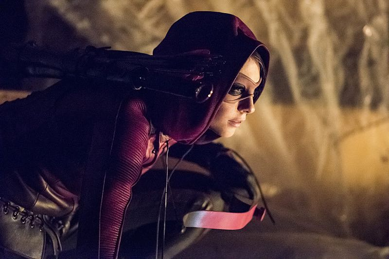 """Arrow -- """"Green Arrow"""" -- Image AR401B_0052b -- Pictured: Willa Holland as Speedy -- Photo: Dean Buscher /The CW -- © 2015 The CW Network, LLC. All Rights Reserved"""