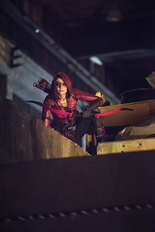 """Arrow -- """"Green Arrow"""" -- Image AR401B_0032b -- Pictured: Willa Holland as Speedy -- Photo: Dean Buscher /The CW -- © 2015 The CW Network, LLC. All Rights Reserved."""