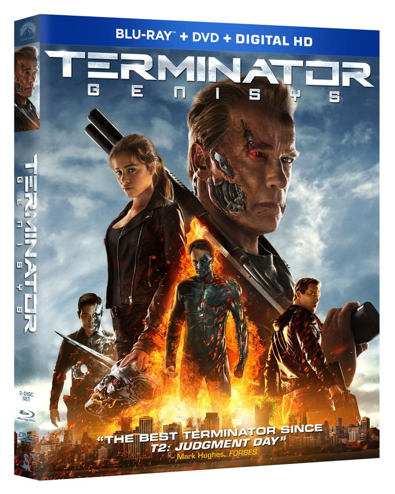 TERMINATOR GENISYS BLURAY COVER