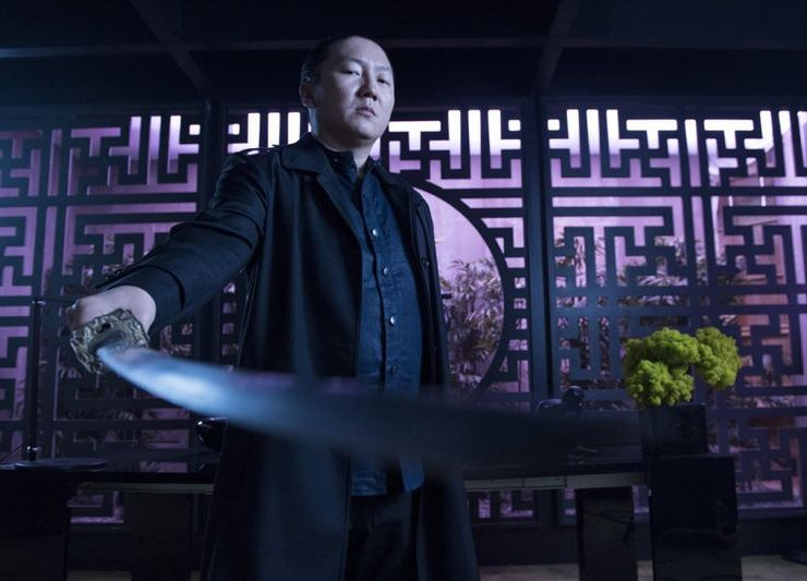 "HEROES REBORN -- ""June 13th - Part One"" Episode 107 Masi Oka as Hiro Nakamura -- (Photo by: Christos Kalohoridis/NBC)"
