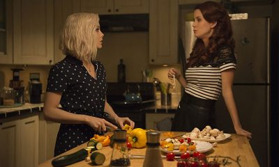 "iZombie -- ""Love & Basketball"" (L-R): Rose McIver as Liv and Leanne Lapp as Gilda -- Photo: Cate Cameron/The CW"