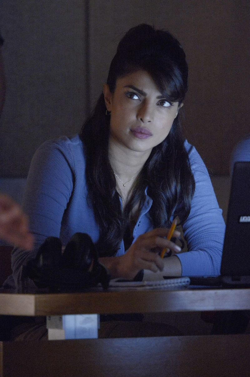 "QUANTICO - ""God"" - The NATs learn surveillance by putting it into practice with Miranda and her troubled son, Charlie. Shelby tries to keep Caleb at a distance, but Raina opens the door to a closer relationship with Simon. In the future, Alex is helped when she tries to hack into an FBI computer, on ""Quantico,"" SUNDAY, NOVEMBER 1 (10:01-11:00 p.m., ET) on the ABC Television Network. (ABC/Phillipe Bosse) PRIYANKA CHOPRA"