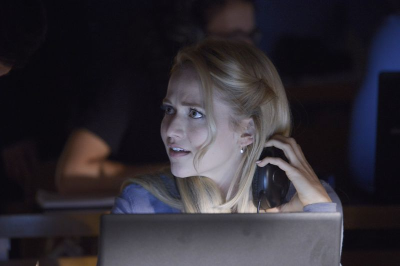 "QUANTICO - ""God"" - The NATs learn surveillance by putting it into practice with Miranda and her troubled son, Charlie. Shelby tries to keep Caleb at a distance, but Raina opens the door to a closer relationship with Simon. In the future, Alex is helped when she tries to hack into an FBI computer, on ""Quantico,"" SUNDAY, NOVEMBER 1 (10:01-11:00 p.m., ET) on the ABC Television Network. (ABC/Phillipe Bosse) JOHANNA BRADDY"