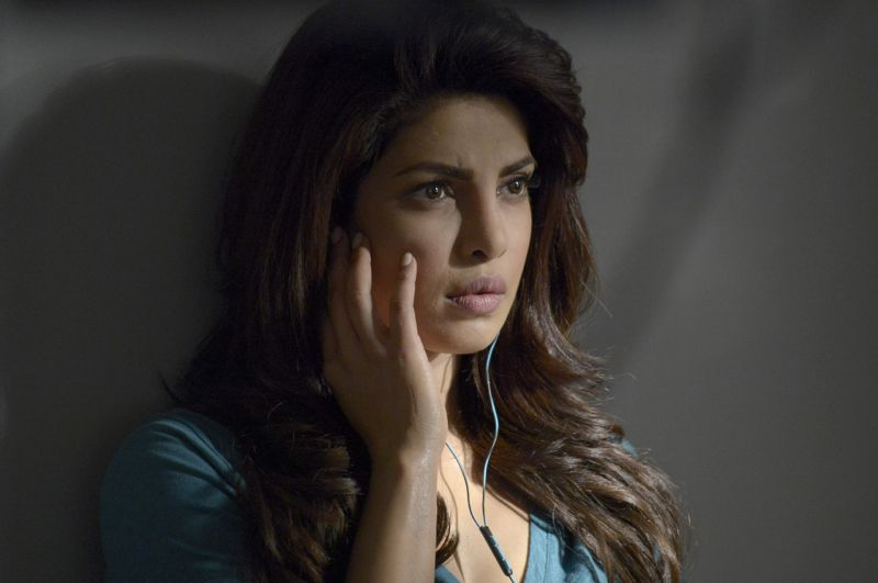 "QUANTICO - ""God"" - The NATs learn surveillance by putting it into practice with Miranda and her troubled son, Charlie. Shelby tries to keep Caleb at a distance, but Raina opens the door to a closer relationship with Simon. In the future, Alex is helped when she tries to hack into an FBI computer, on ""Quantico,"" SUNDAY, NOVEMBER 1 (10:01-11:00 p.m., ET) on the ABC Television Network. (ABC/Phillippe Bosse) PRIYANKA CHOPRA"