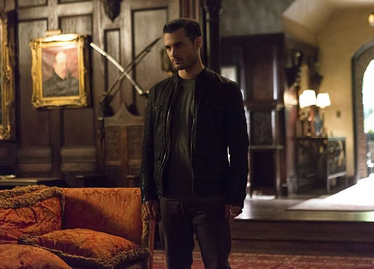 The Vampire Diaries Michael Malarkey as Enzo -- Photo: Eli Joshua/The CW
