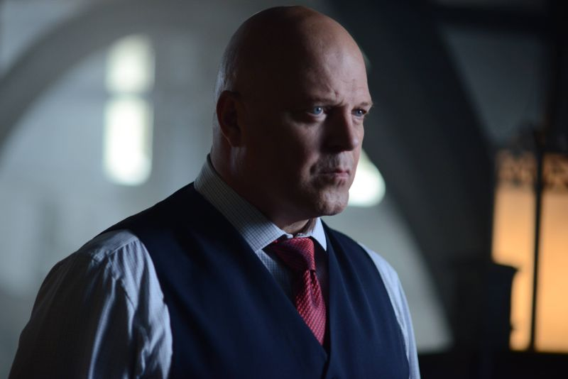 "GOTHAM: Captain Barnes (Michael Chiklis) in the ""Rise of the Villains: Strike Force"" episode of GOTHAM airing Monday, Oct. 12 (8:00-9:00 PM ET/PT) on FOX. ©2015 Fox Broadcasting Co. Cr: FOX."