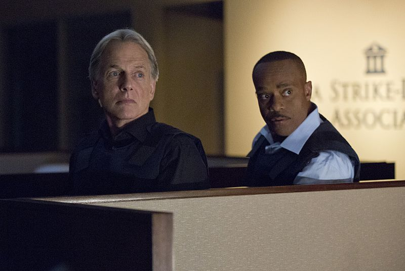 """Double Trouble"" -- Vance (Rocky Carroll, right) partners with Gibbs (Mark Harmon, left) and returns to field duty when a murder case is connected to a former NCIS agent he locked up for stealing evidence, on NCIS, Tuesday, Oct. 13 (8:00-9:00 PM, ET/PT), on the CBS Television Network. Photo: Monty Brinton/CBS ©2015 CBS Broadcasting, Inc. All Rights Reserved"