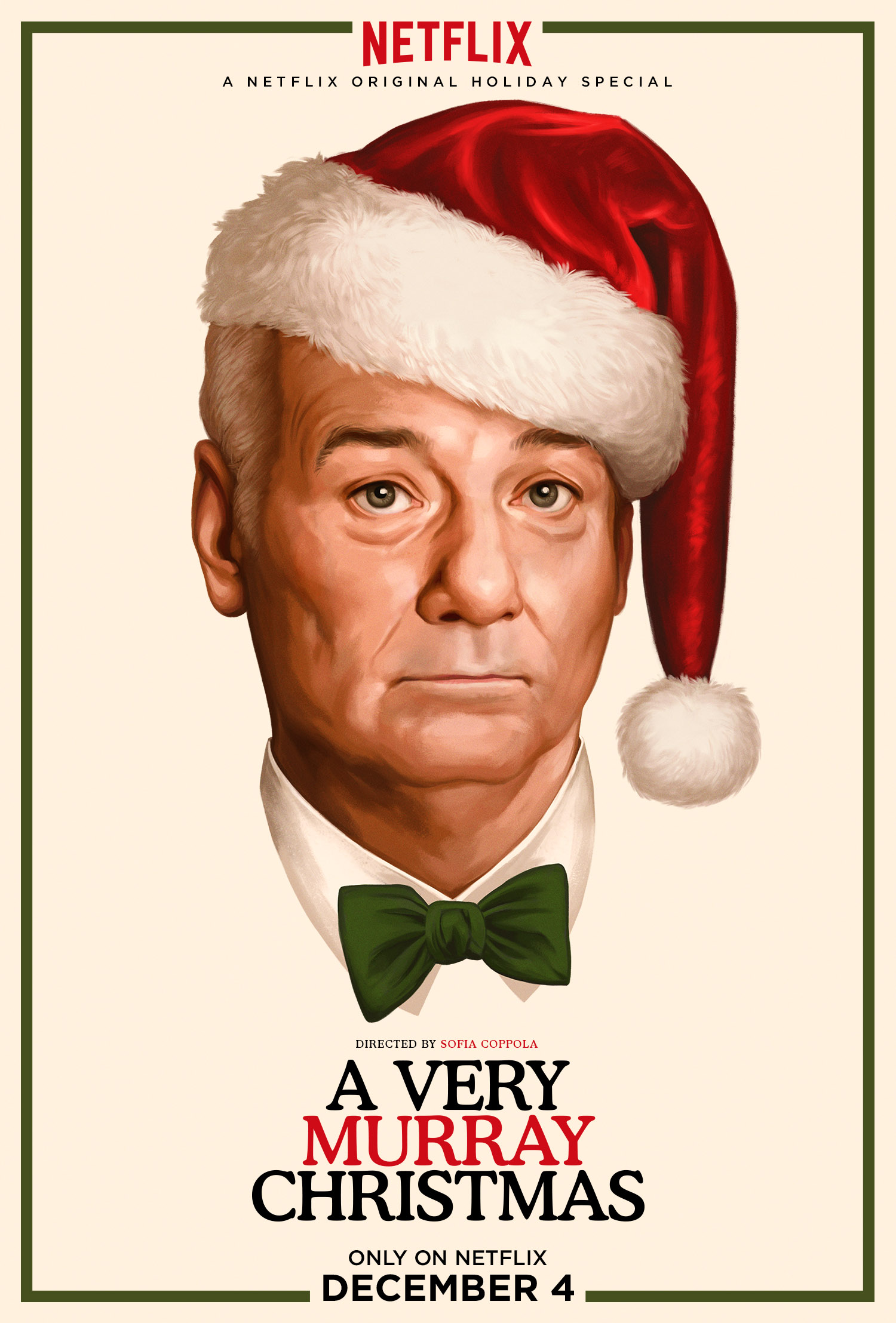 A Very Murray Christmas Key Art Poster