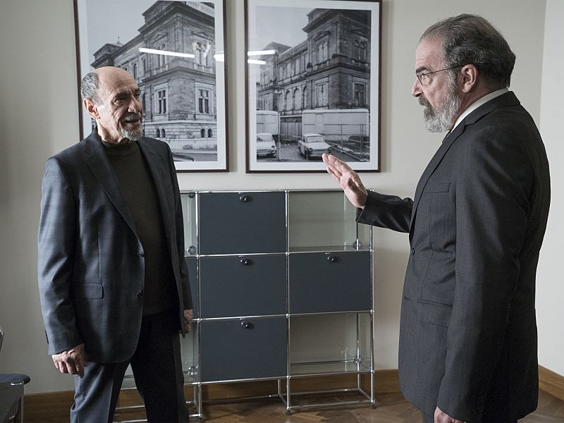 F. Murray Abraham as Dar Adal and Mandy Patinkin as Saul Berenson in Homeland (Season 5, Episode 6). - Photo: Stephan Rabold/SHOWTIME - Photo ID: Homeland_506_2092.R
