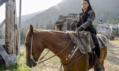 Marie Avgeropoulos as Octavia The 100 Season 3