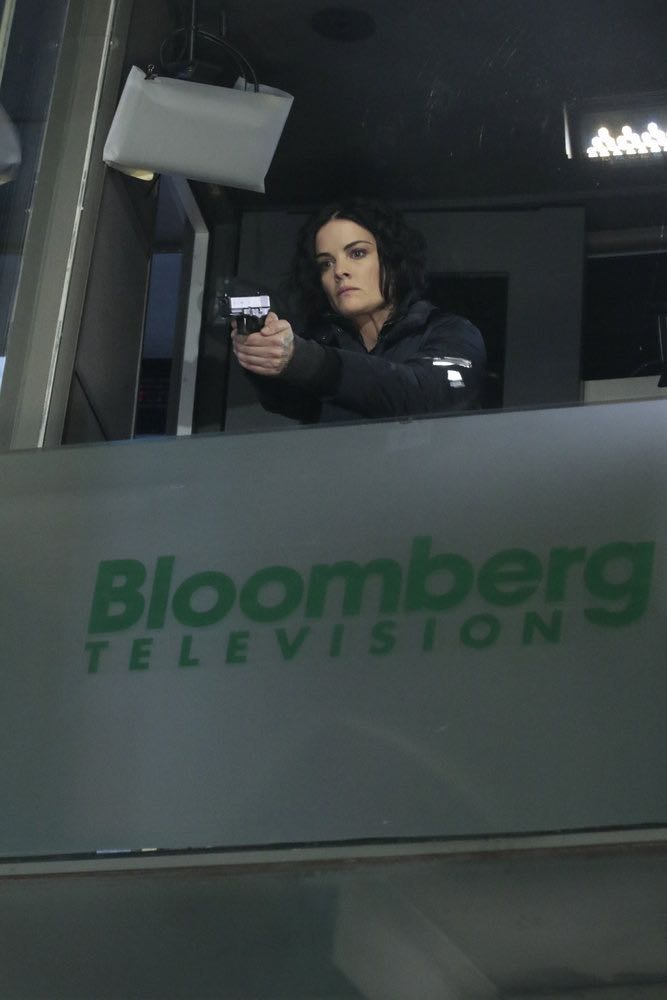 """BLINDSPOT -- """"Any Wounded Thief"""" Episode 116 -- Pictured: Jaimie Alexander as Jane Doe -- (Photo by: Giovanni Rufino/NBC)"""