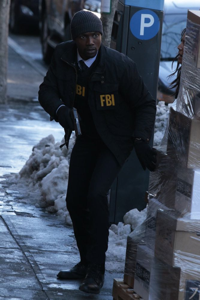 """BLINDSPOT -- """"Any Wounded Thief"""" Episode 116 -- Pictured: Rob Brown as Edgar Reed -- (Photo by: Giovanni Rufino/NBC)"""