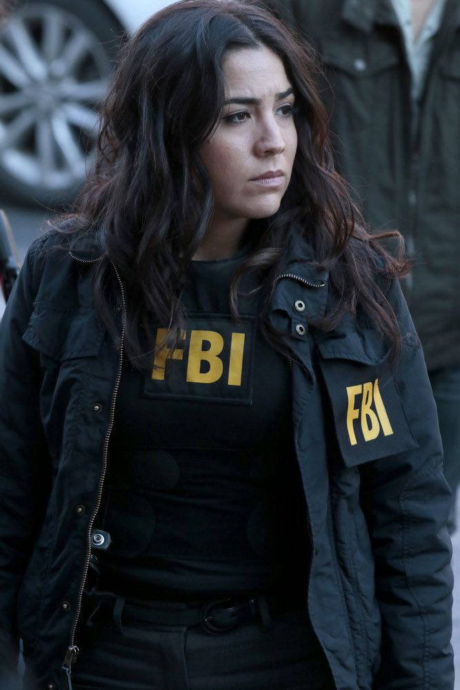"""BLINDSPOT -- """"Any Wounded Thief"""" Episode 116 -- Pictured: Audrey Esparza as Tasha Zapata -- (Photo by: Giovanni Rufino/NBC)"""