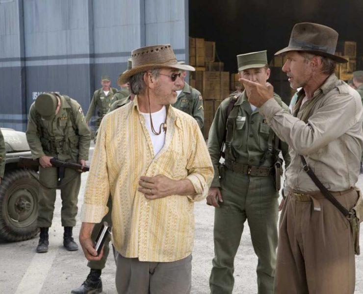 spielberg Harrison Ford Indiana Jones