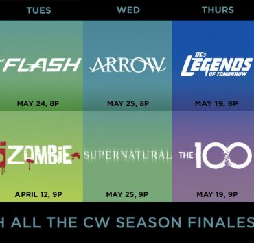 The CW Season Finale Dates