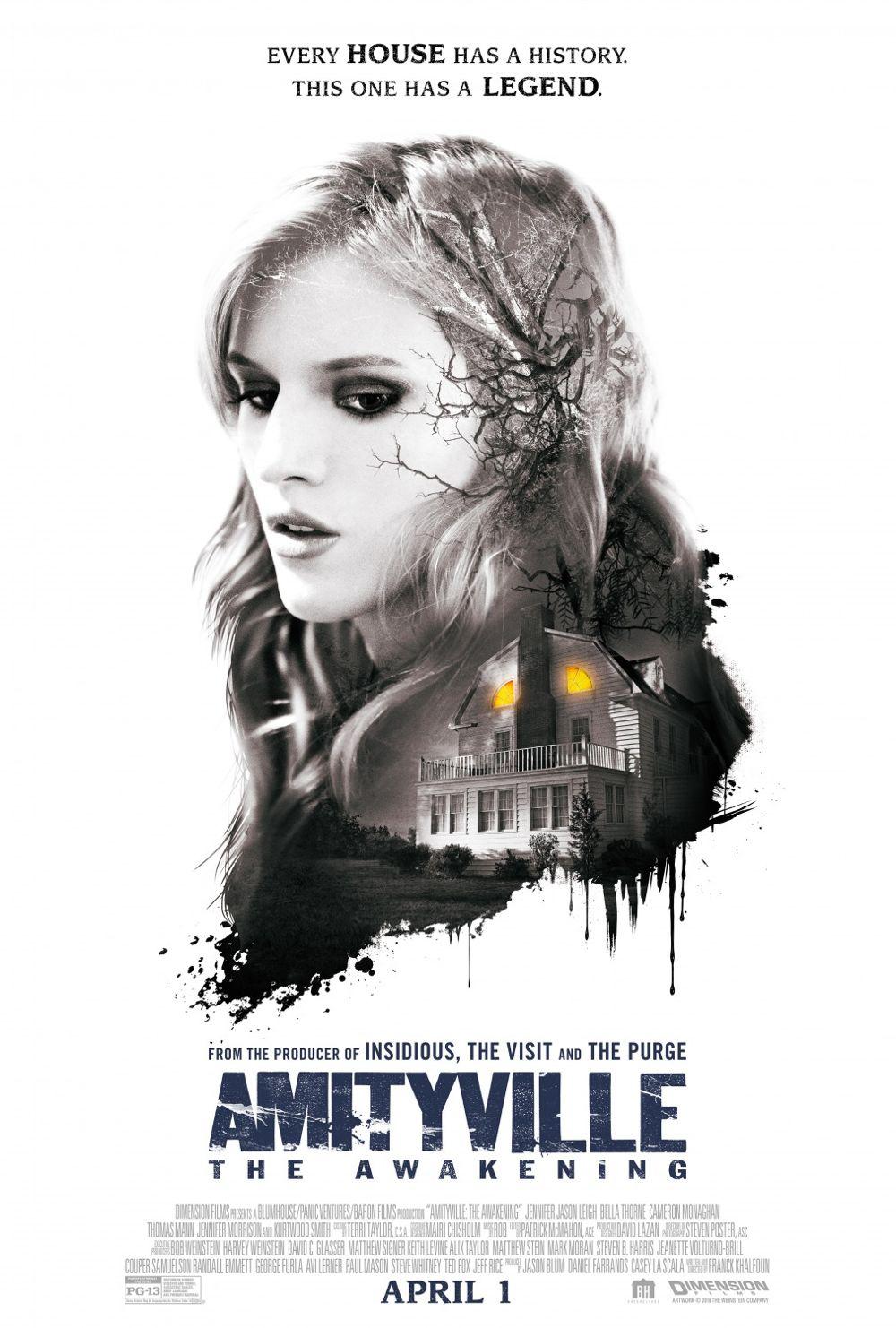 Amityville The Awakening Movie Poster Bella Thorne