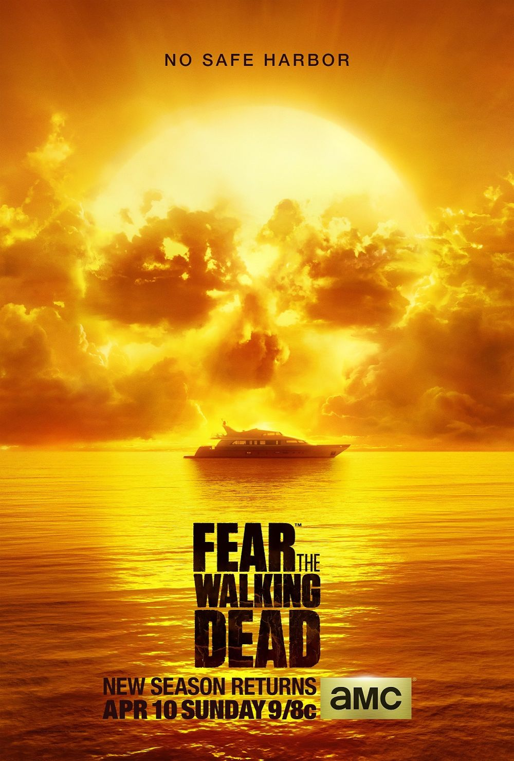FEAR THE WALKING DEAD Season 2 Poster Key Art