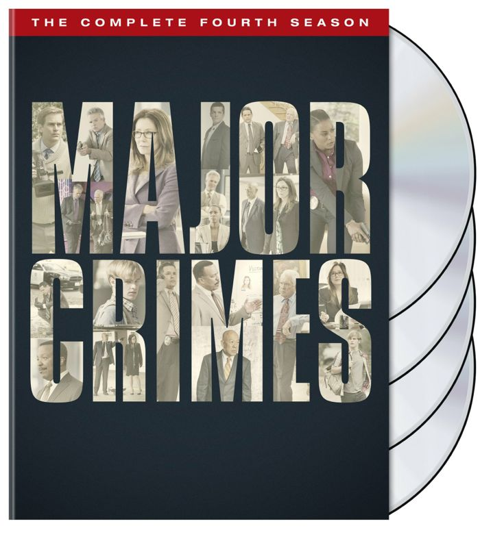 MAJOR CRIMES Season 4 DVD